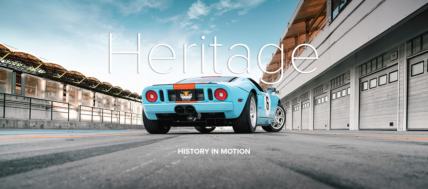 RK MOTORS FORT GT HERITAGE
