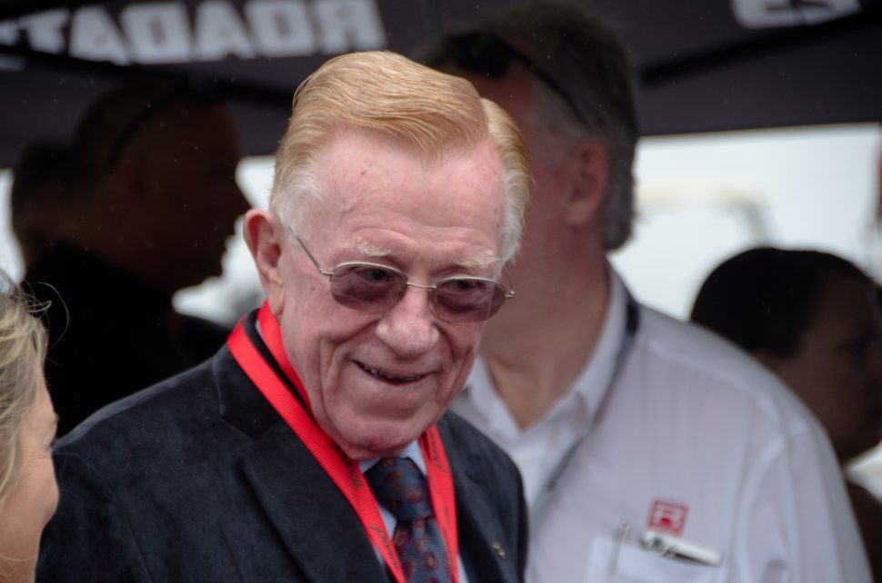 Dr. Don Panoz in October 2017. Photo by Osajus.