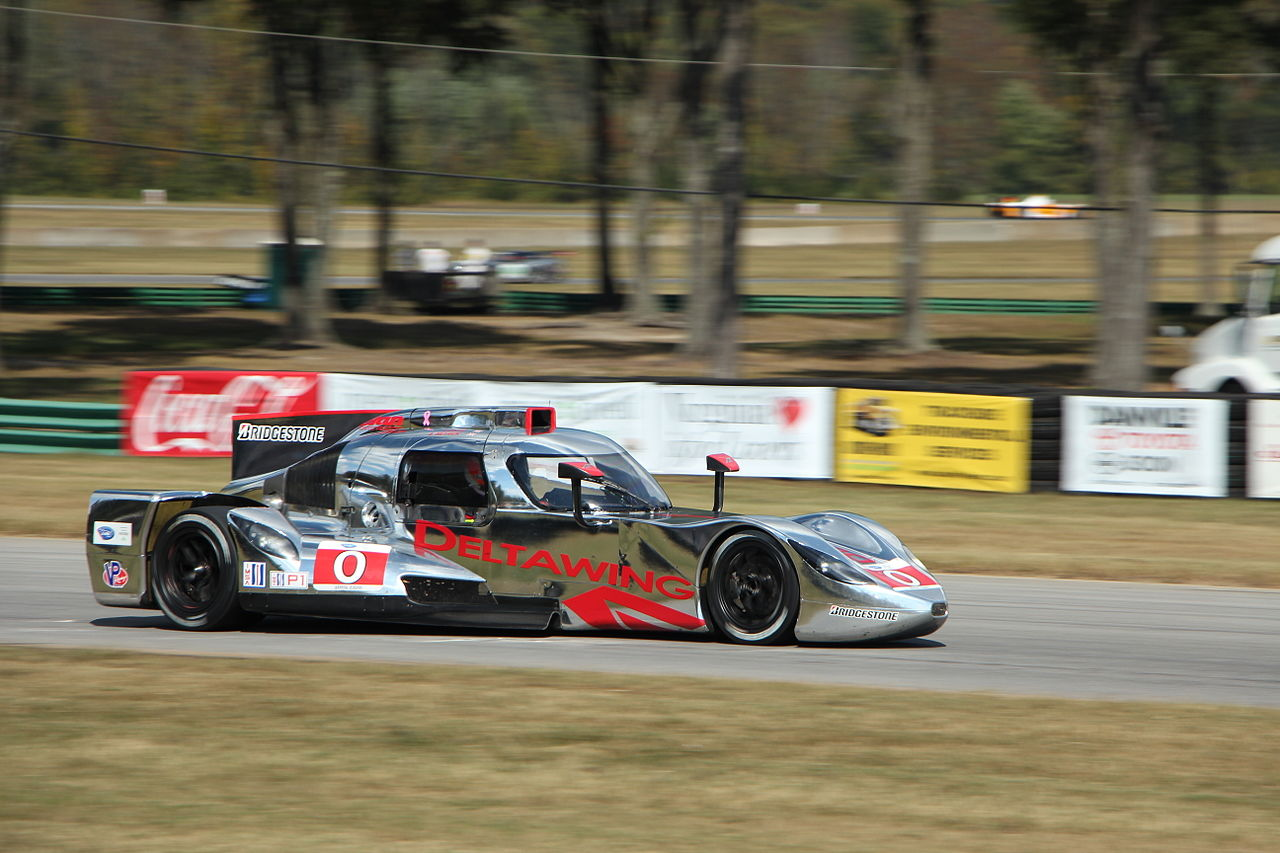 The Delta Wing coupe in 2013. Photo by Nicholas Sladeczek.