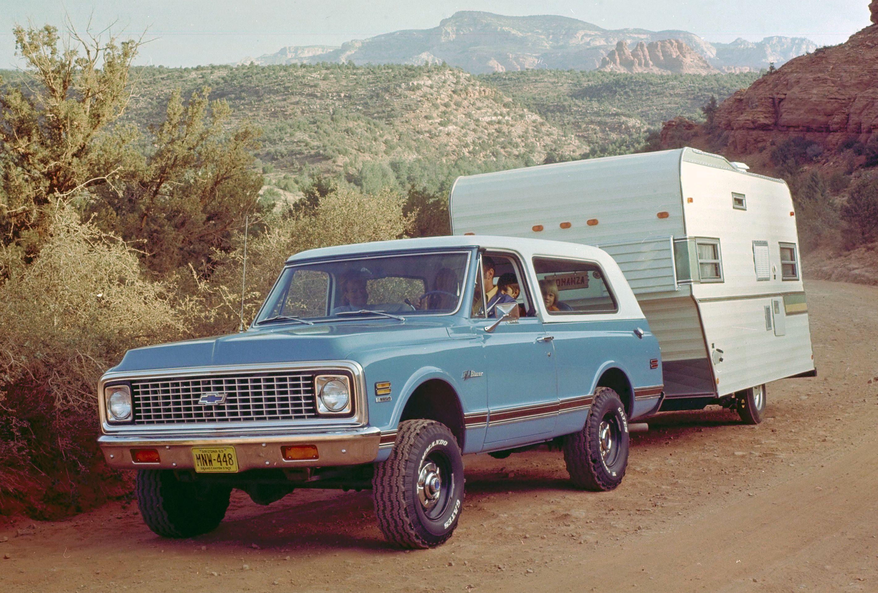 Half a centruy ago, the Chevrolet Blazer took the first step in suburbanizing the SUV | RK ...