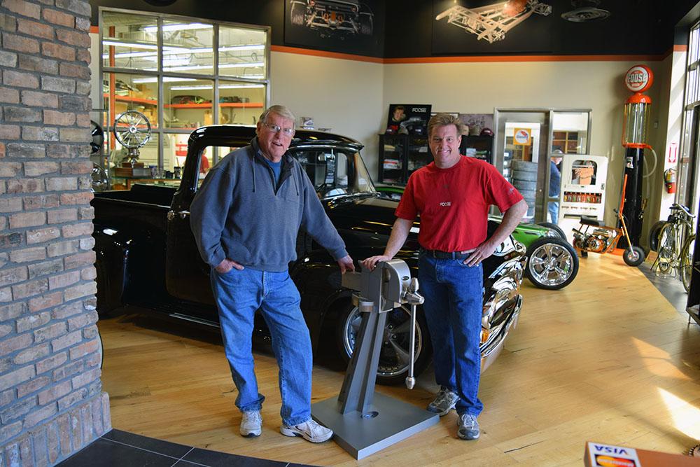 Sam and Chip Foose. Photo courtesy Foose Design.