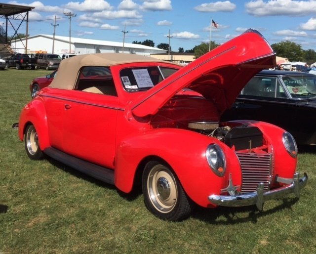 1939 Mercury Sport Convertible