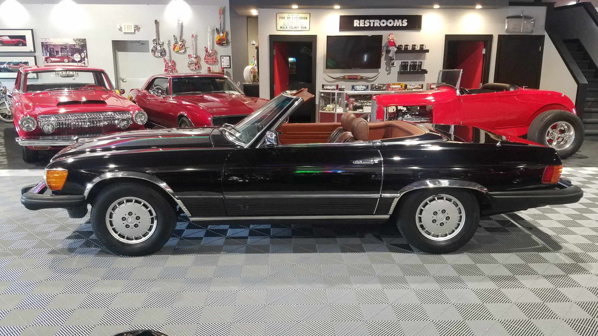 1981 mercedes benz sl380 for sale 89657 mcg for Garage mercedes auxerre 89