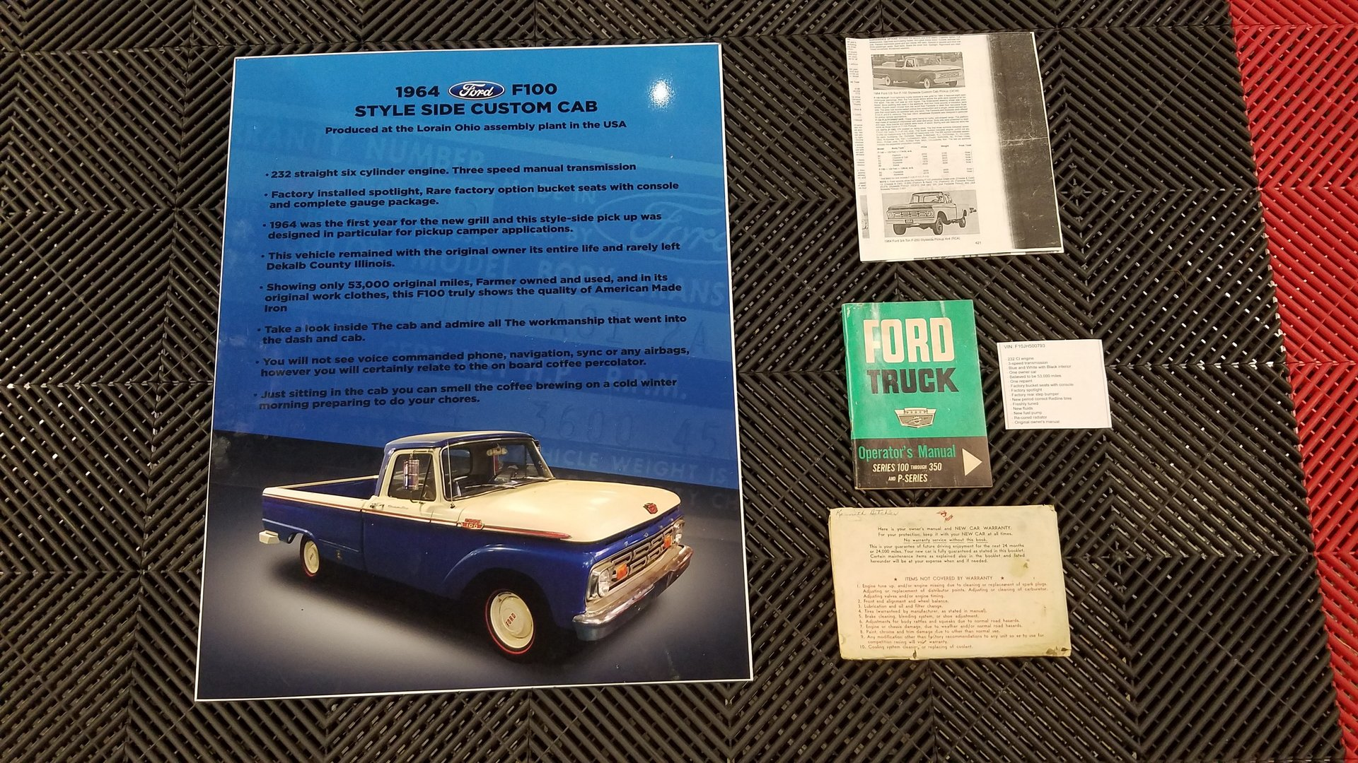 1964 Ford F100 For Sale 89980 Mcg Pickup Truck