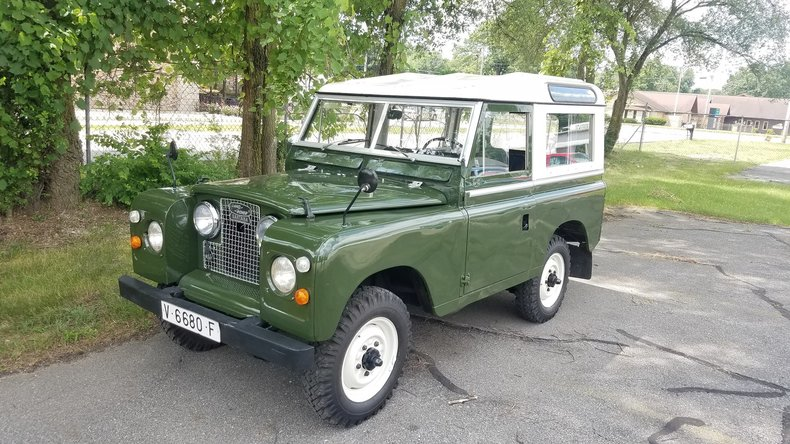 1973 Land Rover Series IIA