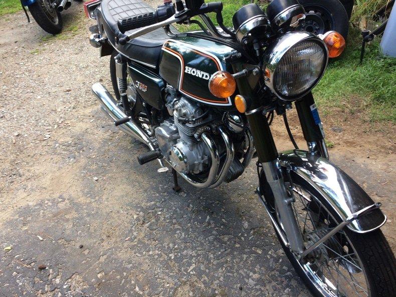 1973 Honda MC CB 350 F