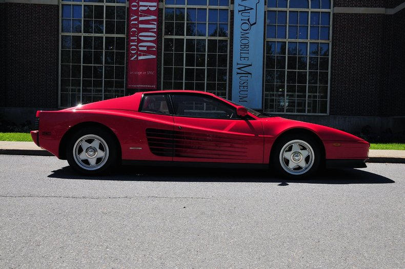 1987 ferrari testarossa saratoga auto auction. Black Bedroom Furniture Sets. Home Design Ideas