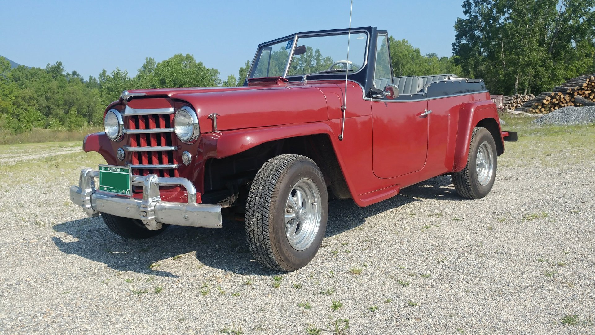 1950 Willys Jeepster Berlin Motors Jeep Pick Up For Sale
