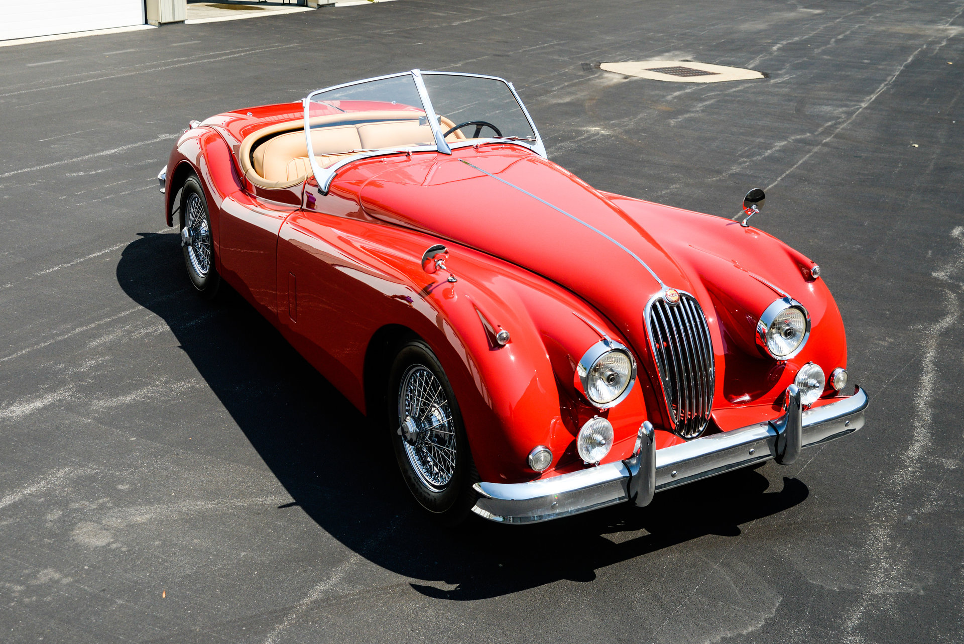 1957 jaguar xk140 saratoga auto auction