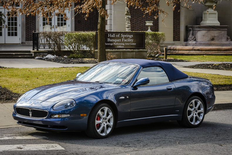 2003 Maserati Spyder Saratoga Auto Auction