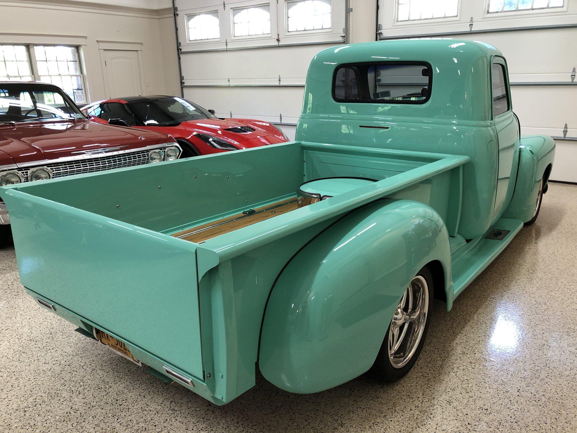 1954 Chevrolet 1 2 Ton Pickup Saratoga Auto Auction Truck Paint Colors
