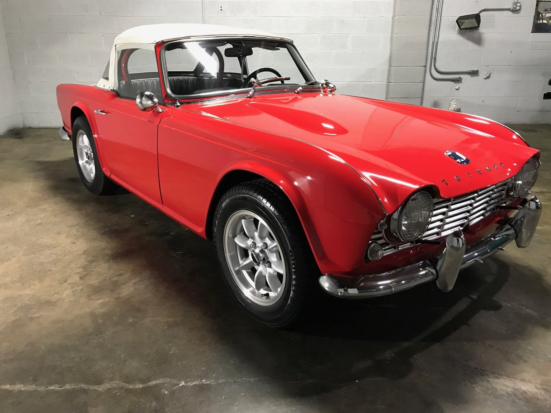 1963 triumph tr4 for sale 81259 mcg. Black Bedroom Furniture Sets. Home Design Ideas