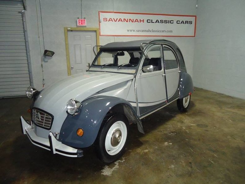 1963 citroen 2cv savannah classic cars. Black Bedroom Furniture Sets. Home Design Ideas