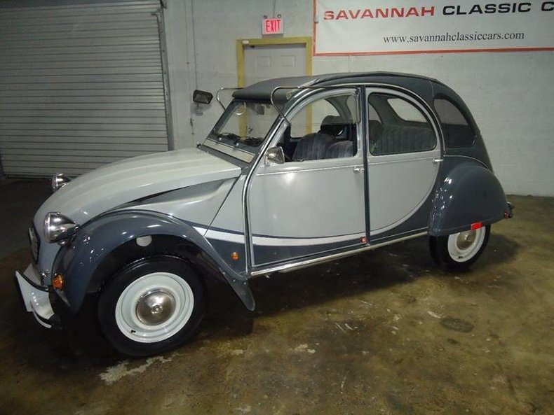 1963 citroen 2cv charlston edition for sale 64851 mcg. Black Bedroom Furniture Sets. Home Design Ideas