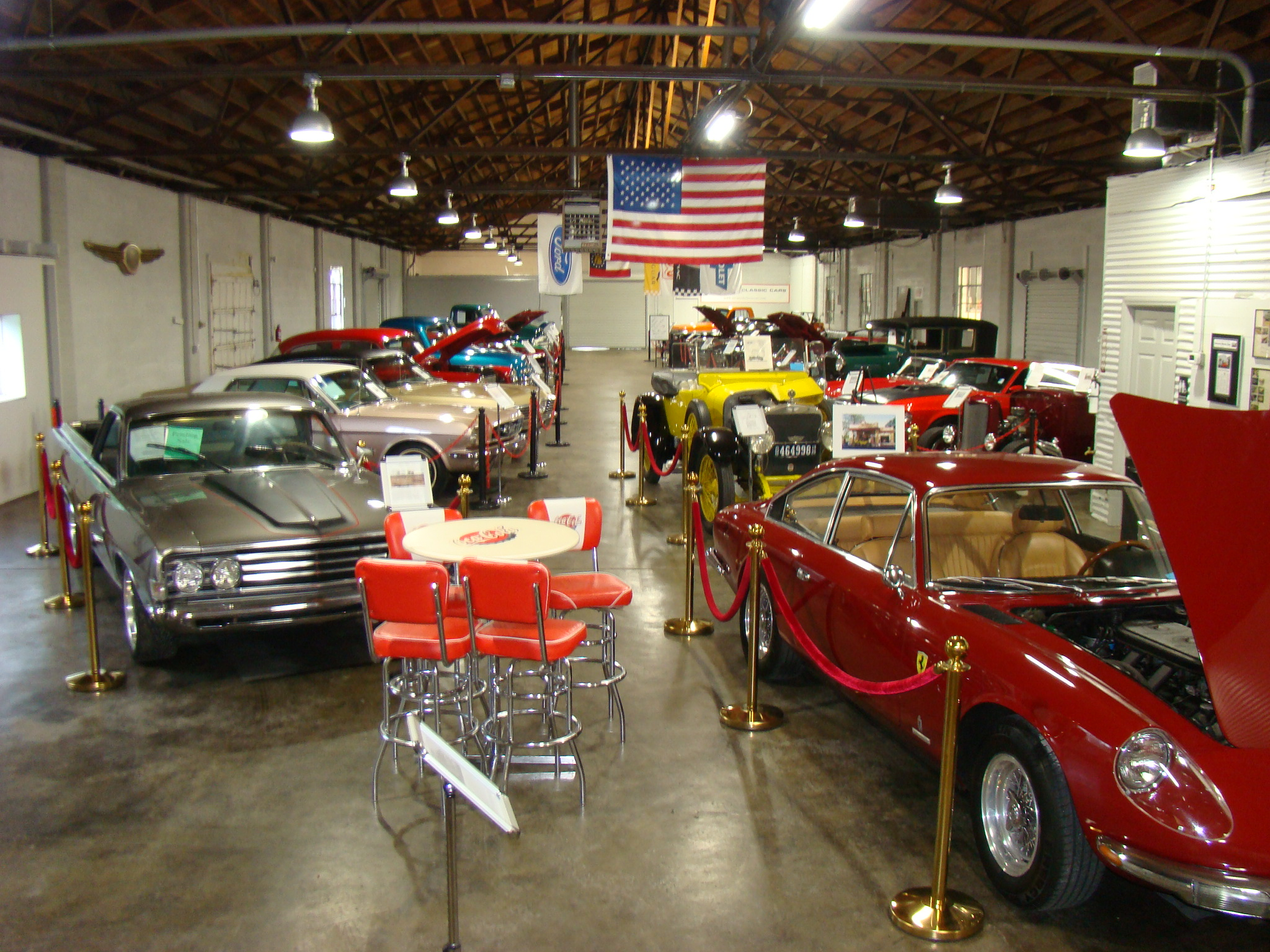 museum savannah classic cars. Black Bedroom Furniture Sets. Home Design Ideas