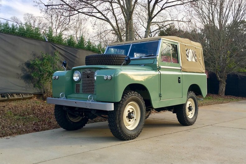1961 Land Rover Series IIA