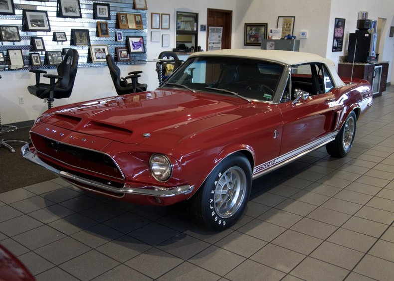 1968 Shelby GT500KR | 2S Motorcars | Specializing in High ...