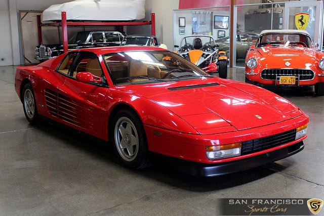 1987 ferrari testarossa san francisco sports cars. Black Bedroom Furniture Sets. Home Design Ideas