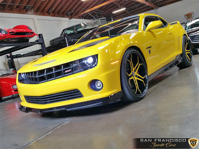 2012 chevrolet camaro ss bumblebee san francisco sports cars. Black Bedroom Furniture Sets. Home Design Ideas