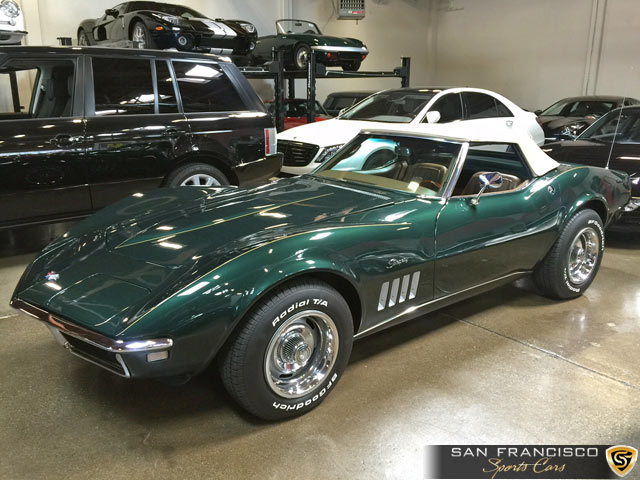 1968 Chevrolet Corvette Convertible San Francisco Sports