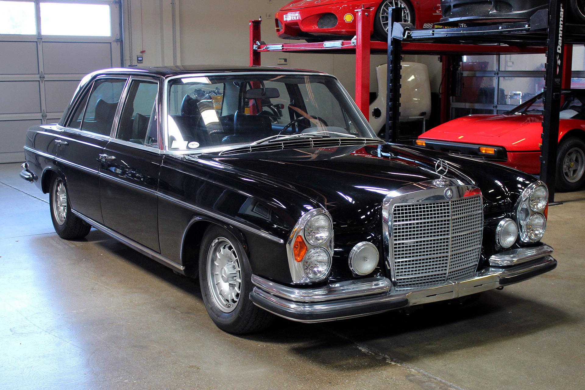 1972 mercedes benz 300 sel san francisco sports cars. Black Bedroom Furniture Sets. Home Design Ideas