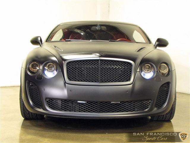 2010 bentley continental gt supersports san francisco sports cars. Black Bedroom Furniture Sets. Home Design Ideas