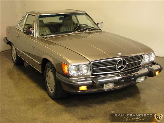 1987 mercedes benz 560sl san francisco sports cars. Black Bedroom Furniture Sets. Home Design Ideas