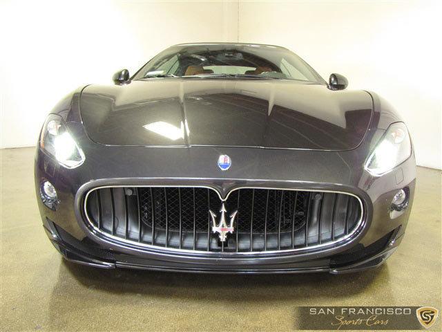 2012 Maserati GranTurismo Cabriolet