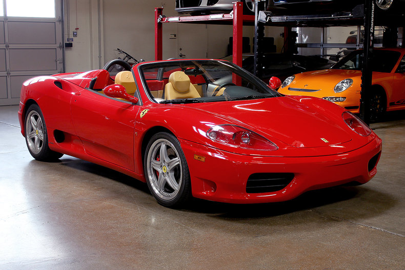 2004 ferrari 360 spider san francisco sports cars. Black Bedroom Furniture Sets. Home Design Ideas
