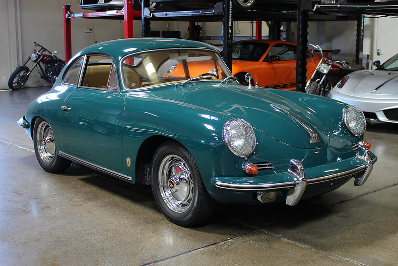 1960 porsche 356 b coupe san francisco sports cars. Black Bedroom Furniture Sets. Home Design Ideas