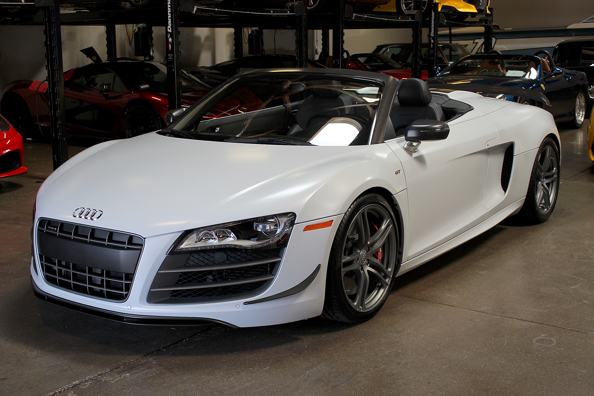 2012 audi r8 spyder san francisco sports cars. Black Bedroom Furniture Sets. Home Design Ideas