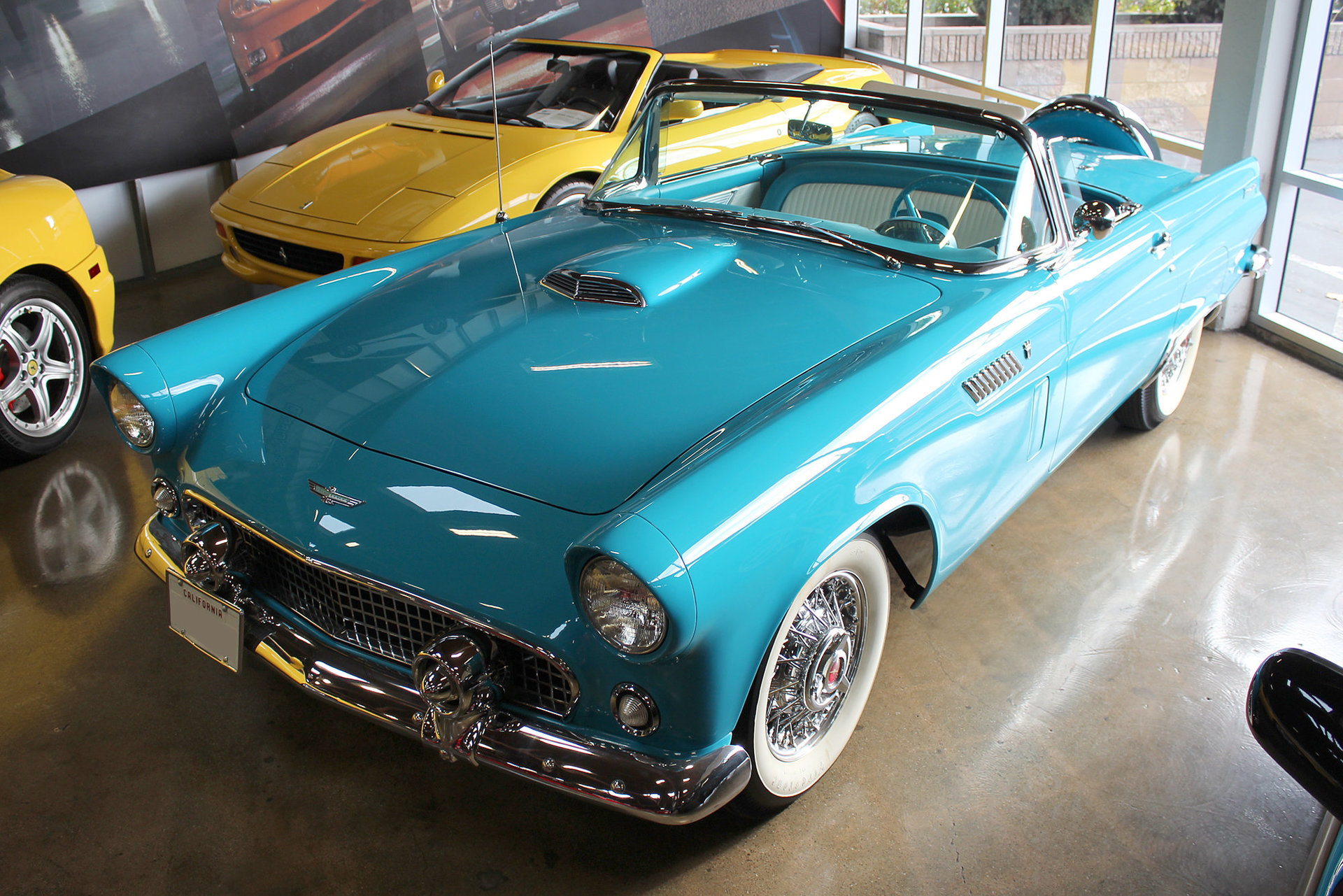 3103815634857 hd 1956 ford thunderbird