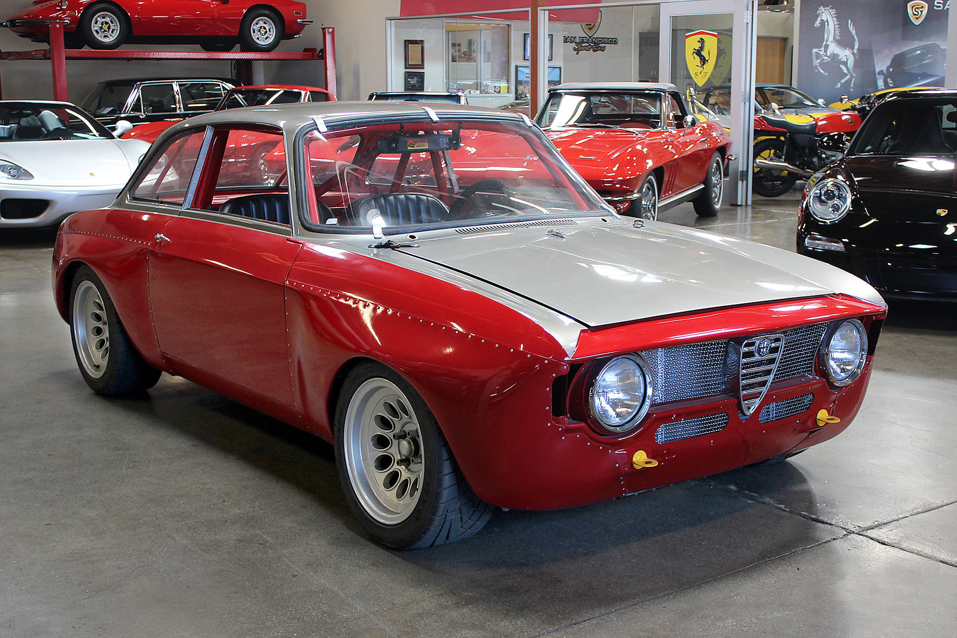 1968 alfa romeo gtv for sale 71255 mcg. Black Bedroom Furniture Sets. Home Design Ideas