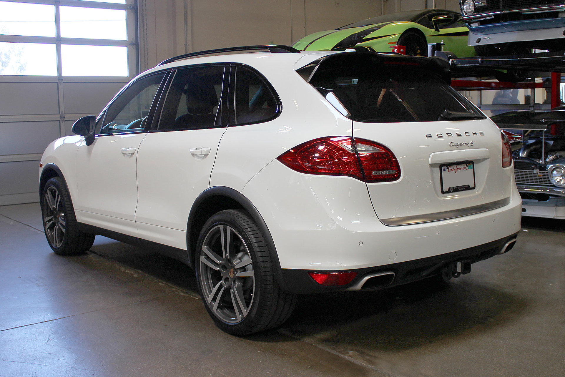 2013 porsche cayenne v8 s for sale 74182 mcg. Black Bedroom Furniture Sets. Home Design Ideas