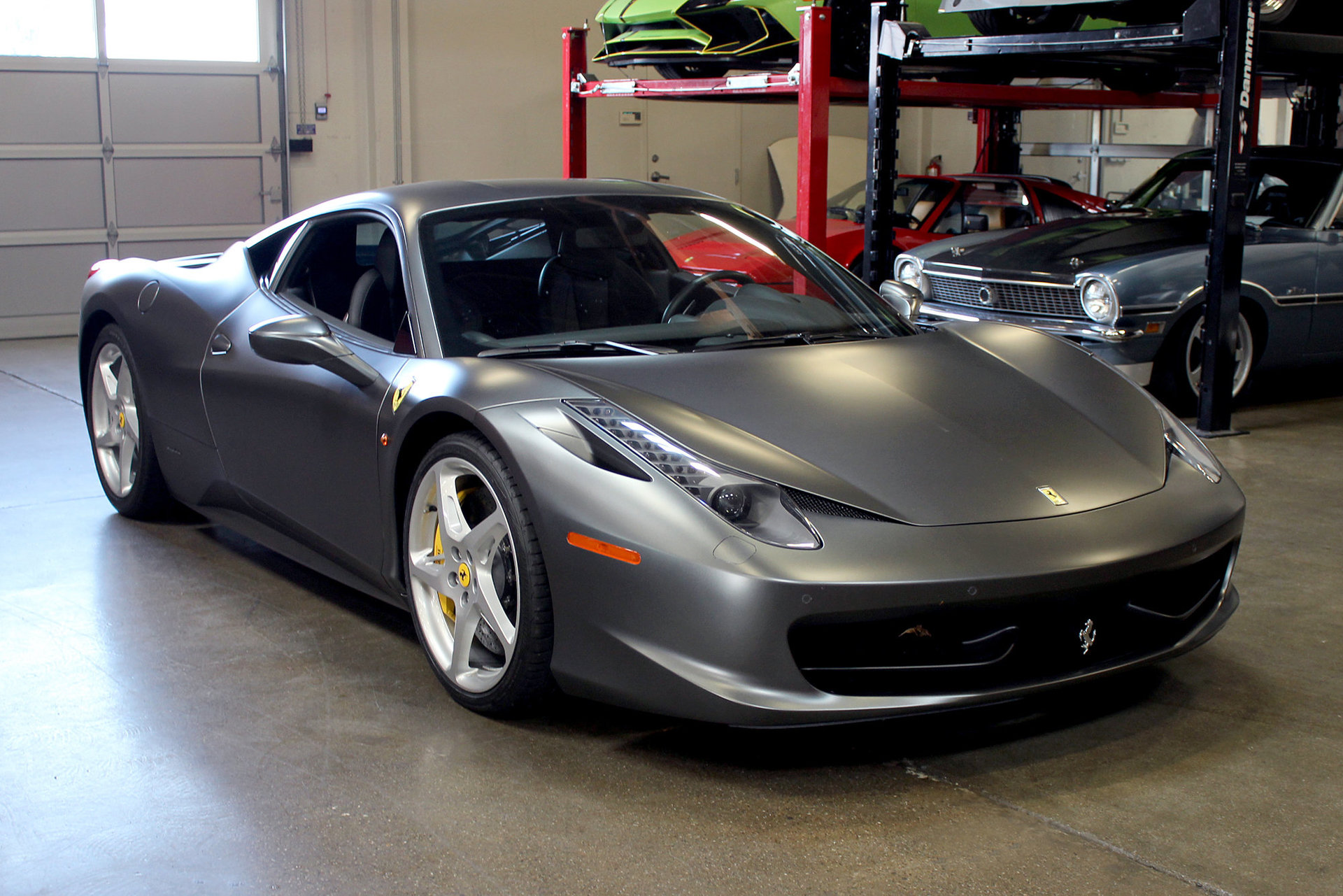2013 ferrari 458 italia coupe for sale 76065 mcg. Black Bedroom Furniture Sets. Home Design Ideas