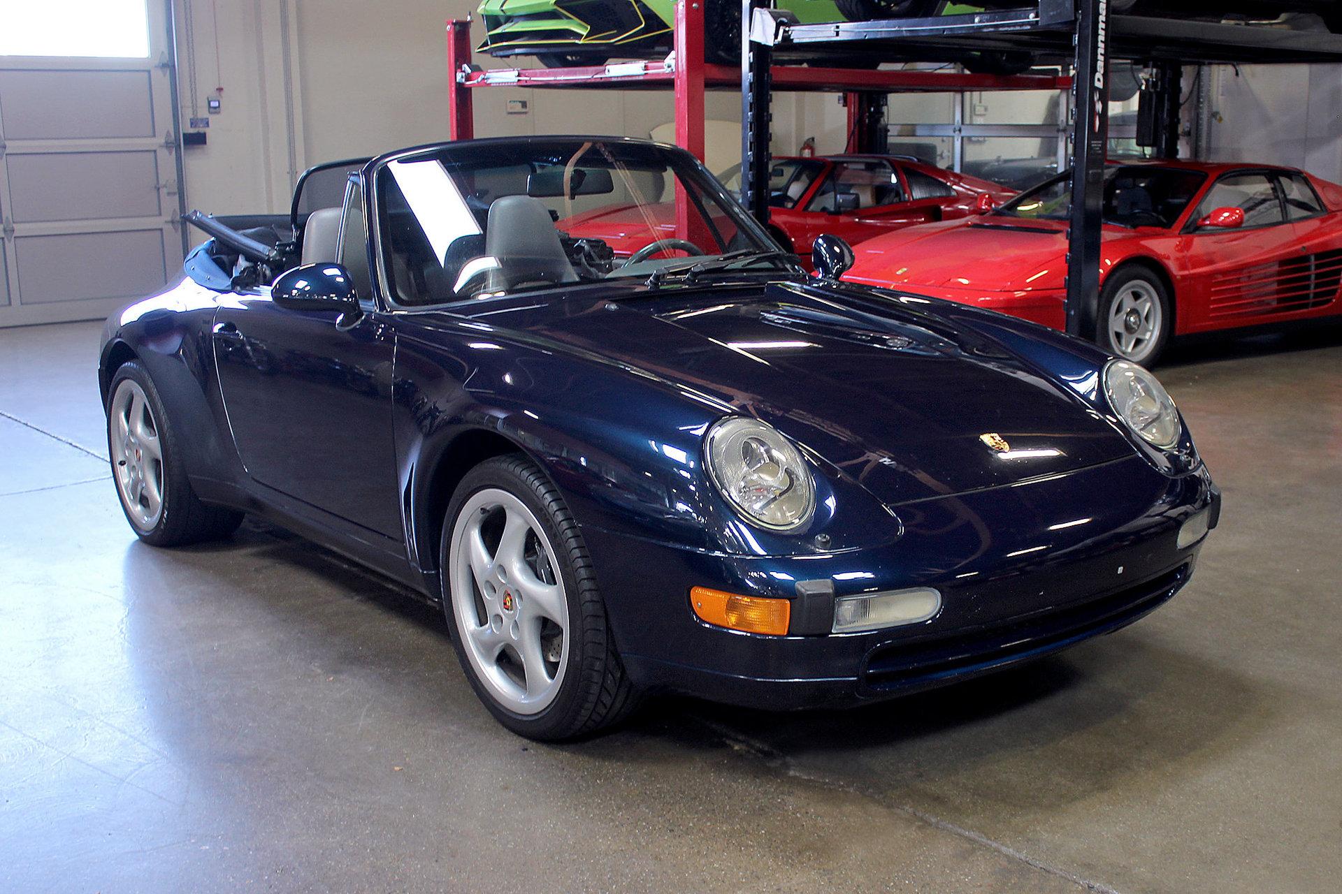 1997 Porsche 911 Carrera Cabriolet San Francisco Sports Cars