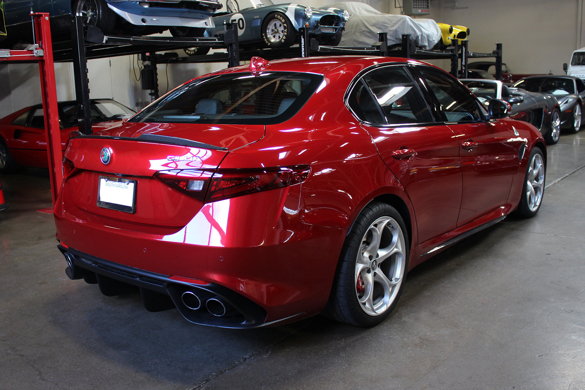 2017 Alfa Romeo Giulia Quadrifoglio San Francisco Sports Cars