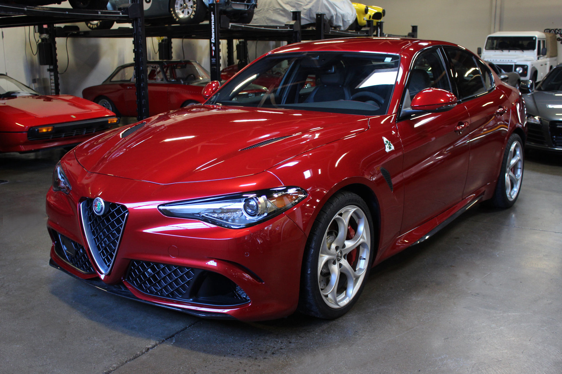 2017 alfa romeo giulia quadrifoglio san francisco sports cars. Black Bedroom Furniture Sets. Home Design Ideas
