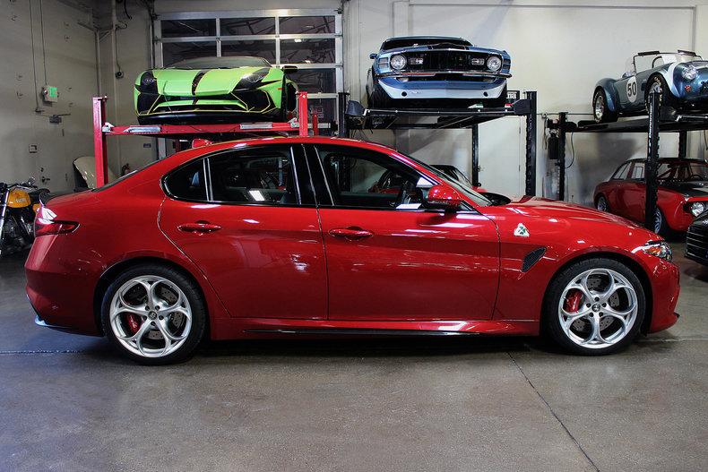 2017 Alfa Romeo Giulia Quadrifoglio For Sale #77490