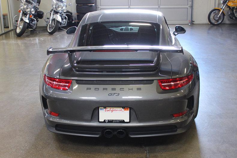 2015 Porsche 911 Gt3 For Sale 80990 Mcg