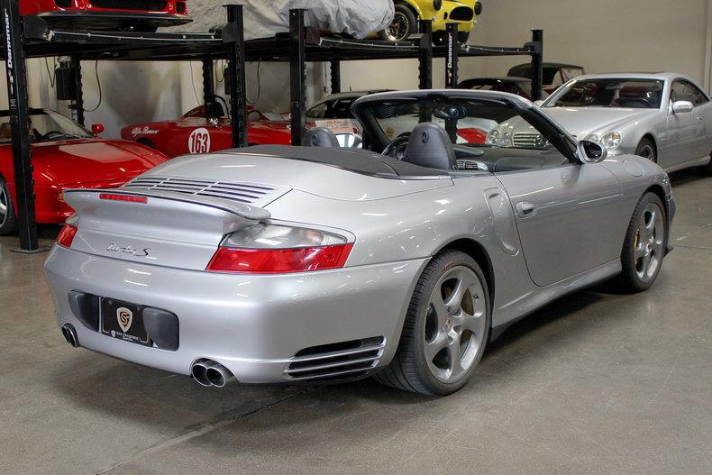2005 porsche 911 turbo s cabriolet for sale 81784 mcg. Black Bedroom Furniture Sets. Home Design Ideas