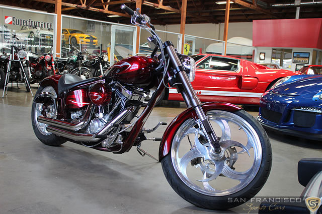 2007 custom motorcycle san francisco sports cars buy sell and store exotic and classic. Black Bedroom Furniture Sets. Home Design Ideas