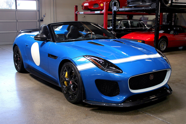 2016 jaguar f type project 7 for sale 87929 mcg. Black Bedroom Furniture Sets. Home Design Ideas