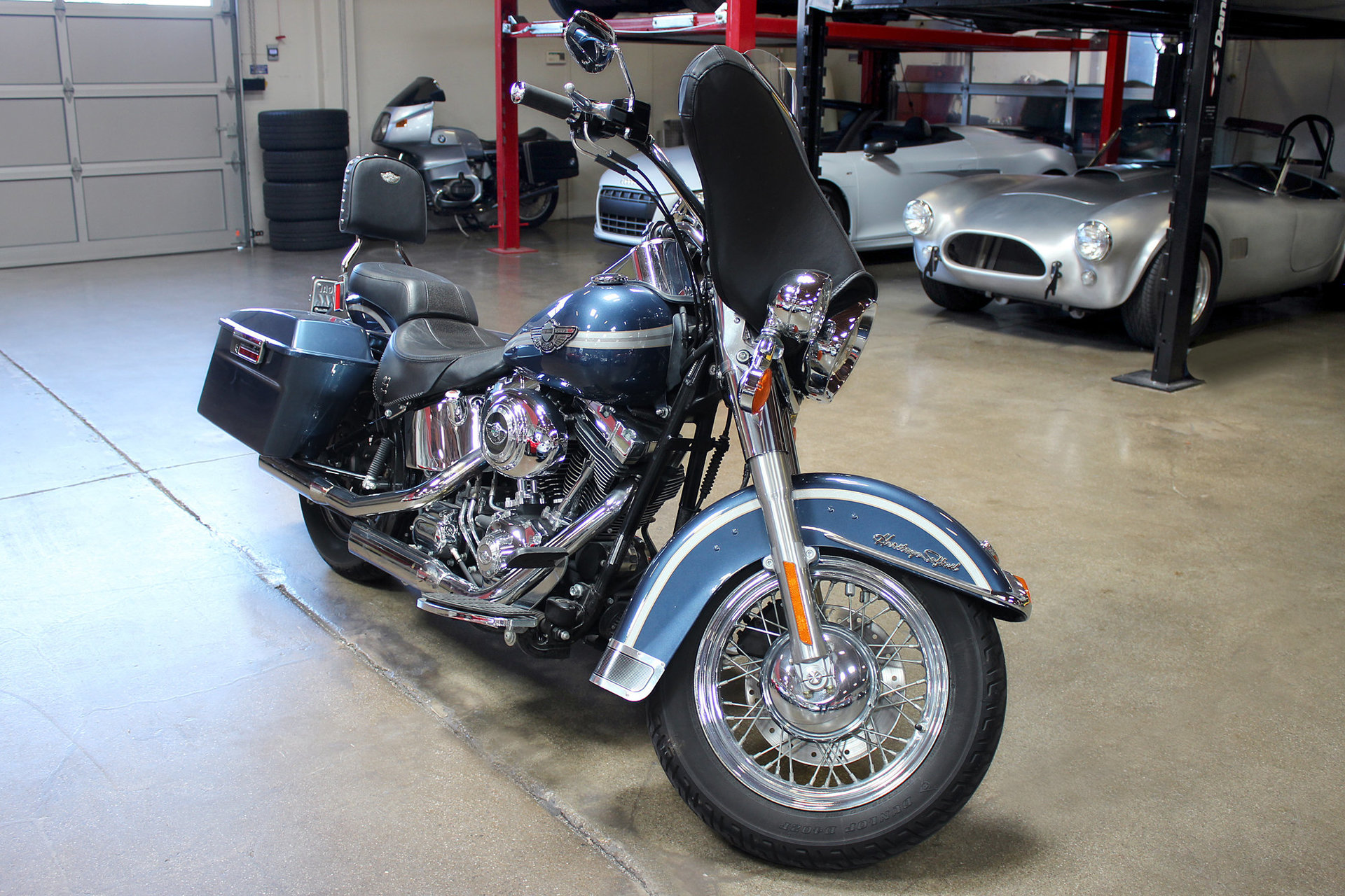 351414449e0ea hd 2003 harley davidson heritage softail 100th anniversary