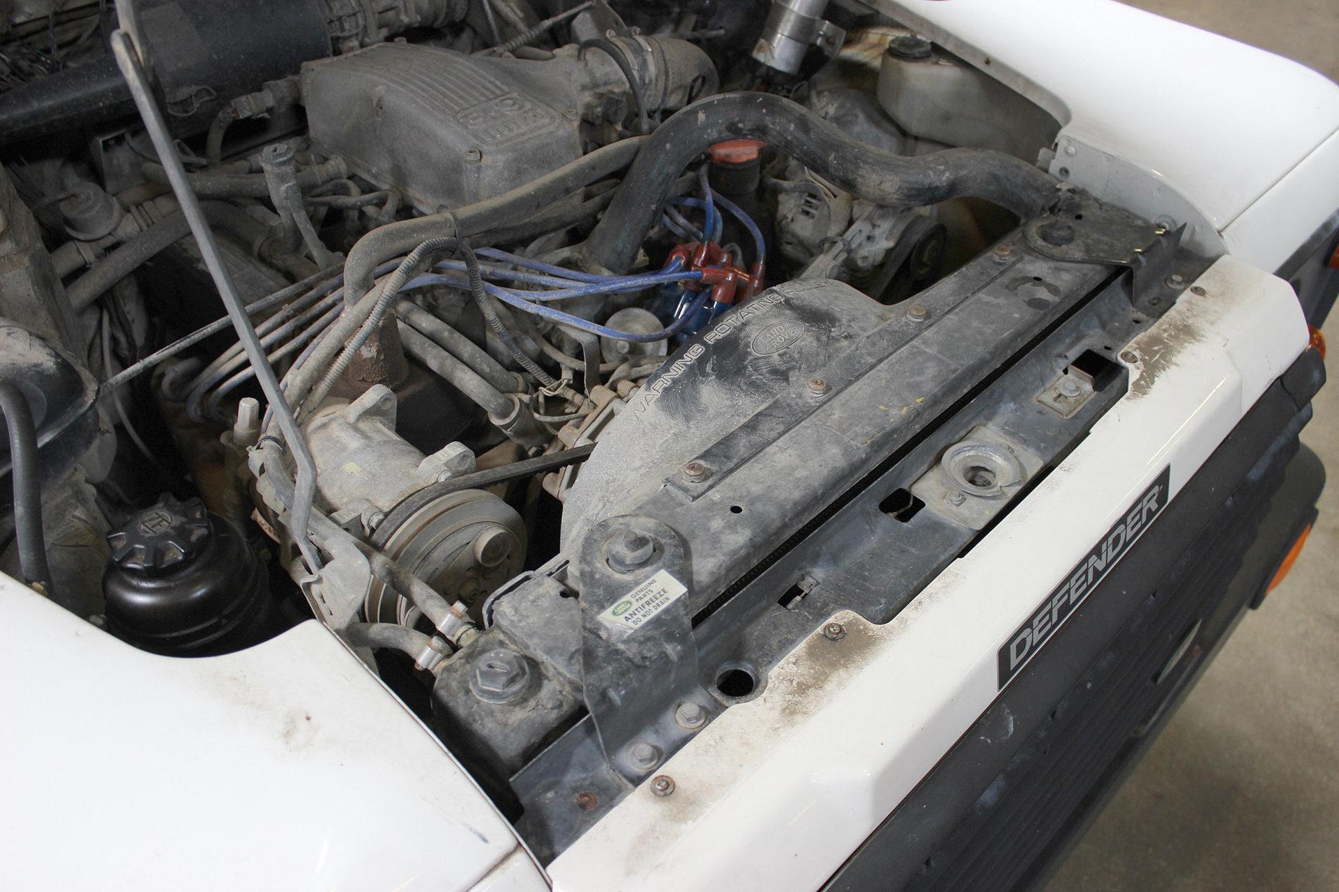 1993 Land Rover Defender 110 San Francisco Sports Cars Antifreeze