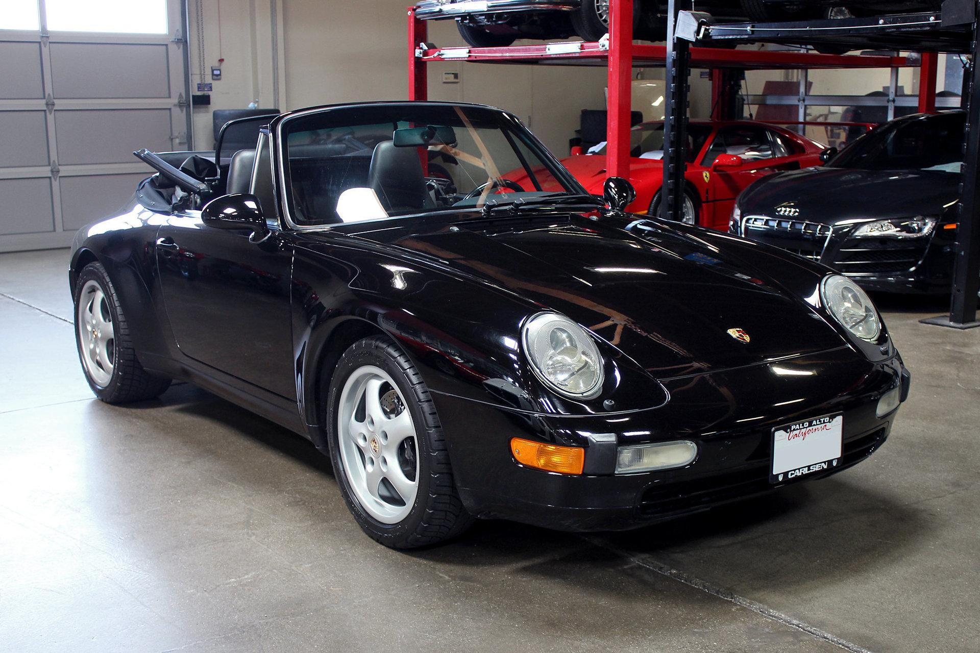 3639958229996 hd 1995 porsche 911 carrera 2dr cabriolet carrera 6 spd manual