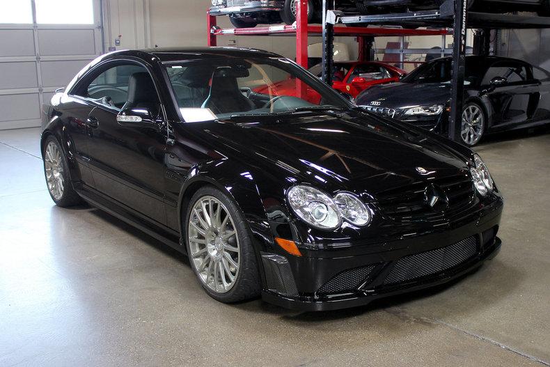 2008 Mercedes-Benz CLK63 black series