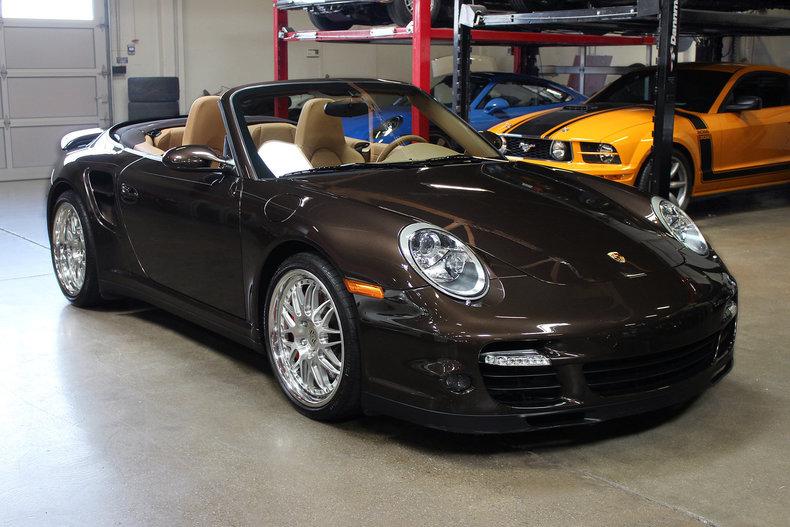 2008 Porsche 911 2dr Cabriolet Turbo For Sale 100977 Mcg