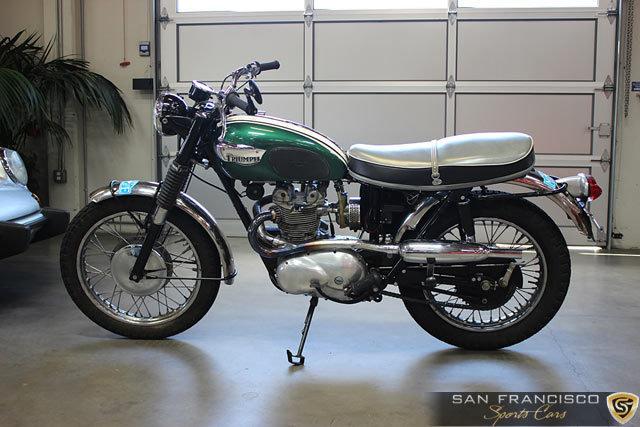 1966 Triumph T100C Motorcycle