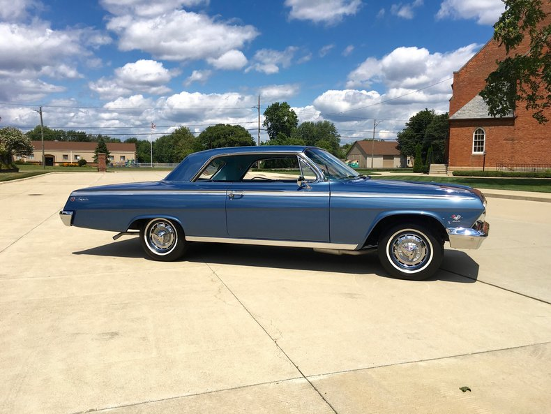 1962 chevrolet impala ss 409 for sale 63175 mcg. Black Bedroom Furniture Sets. Home Design Ideas